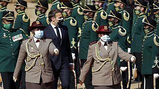 Emmanuel Macron in Kapstadt (Südafrika) am 28. Mai 2021