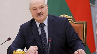 Belarus President Alexander Lukashenko claimed a disputed victory in August's election.