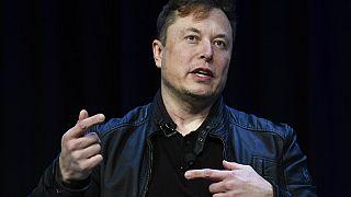 Tesla ve SpaceX'in CEO'su Elon Musk.