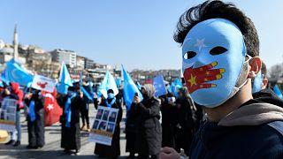 Uygurlara destek protestosu - Türkiye