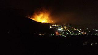 Serbie : spectaculaires explosions dans un dépôt de munitions