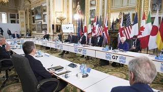 A meeting of finance ministers from across the G7 nations at Lancaster House in London, Friday June 4, 2021.