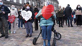 Protestas en Dinamarca contra la política migratorio del Gobierno