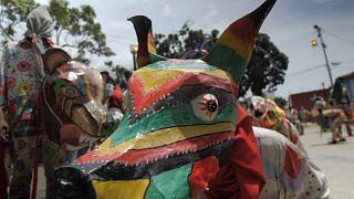 Venezuela dancing devils