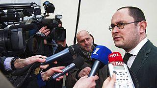 Belçika Adalet Bakanı Vincent Van Quickenborne.