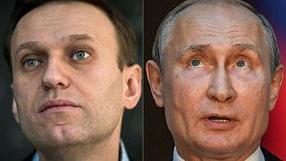 Aleksey Navalny ve Vlademir Putin