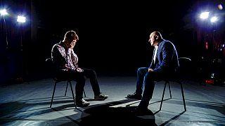A entrevista a Raman Pratasevich foi apresentada esta quinta-feira à noite na televisão estatal bielorrussa