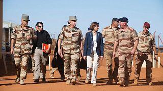 سفر فلورانس پارلی، وزیر نیروهای مسلح فرانسه به مالی در سال ۲۰۱۹