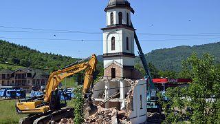Βοσνία: Κατεδαφίστηκε παράνομος ναός