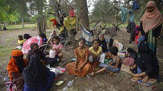 Arakanlı Müslümanlar, 113 gün yolculuğun ardından Endonezya'ya ulaştı