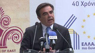 Ο Αντιπρόεδρος της Κομισιόν, Μαργαρίτης Σχοινάς