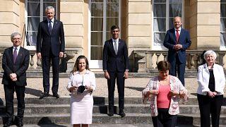 وزراء مالية مجموعة السبع