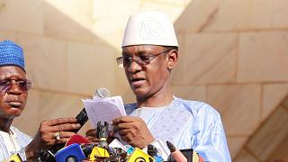 شوغيل كوكالا مايغا المرشح لتولي منصب رئيس الوزراء خلال المرحلة الانتقالية في مالي.