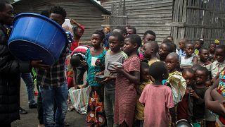 Eruption volcanique en RDC : de nombreux enfants toujours séparés de leurs parents