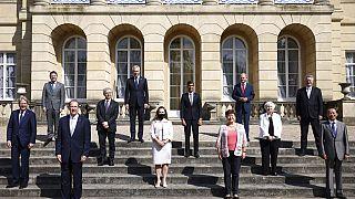 G-7 ülkeleri ve AB temsilcileri İngiltere'nin başkenti Londra'da bir araya geldi.