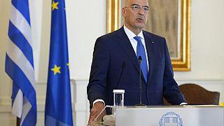 Ο υπουργός Εξωτερικών της Ελλάδας Νίκος Δένδιας - φώτο αρχείου