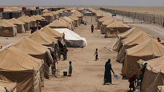 a camp outside Fallujah, Iraq
