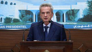 حاكم المصرف المركزي اللبناني رياض سلامة.