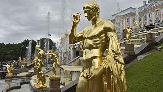 Статуя Большого каскада Петергофа