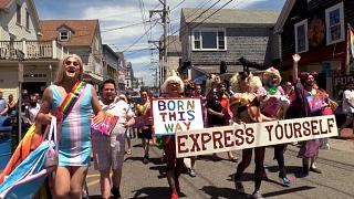 Pride parade resumes in Provincetown