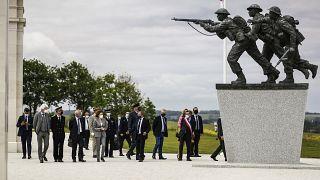 Память о высадке в Нормандии