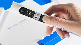 Tip 1 ve Tip 2 diyabet hastalarında insülin derecesi ölçen akıllı kalem