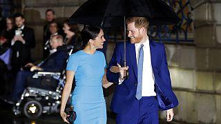 Sussex Dükü Prens Harry ile eşi Düşes Meghan Markle