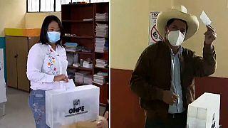 Keiko Fujimori è in testa nel ballottaggio presidenziale del Perù