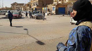 دورية للقوات الموالية للمشير خليفة حفتر في مدينة سبها جنوب ليبيا، 9 فبراير 2019