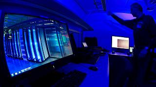 Az Europol kíberbűnözési központja Hágában (archív, 2013)