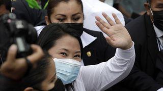 المرشحة إلى الانتخابات الرئاسية في البيرو كيكو فوجيموري