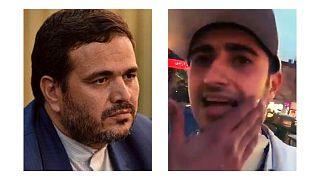 نماینده مجلس ایران و سرباز راهور