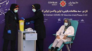آزمایش بالینی واکسن کرونا در ایران