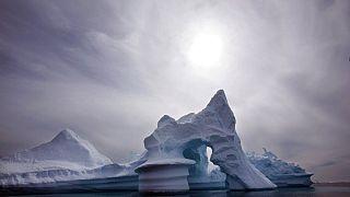 FILE: iceberg melts off Ammassalik Island in Eastern Greenland, July 19, 2007.