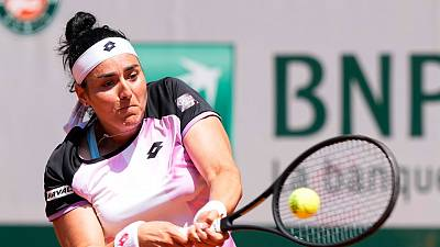 Tennis : la Tunisienne Ons Jabeur éliminée du tournoi de Roland-Garros