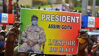 Mali coup leader Assimi Goita sworn in as transitional president