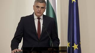 Stefan Yanev was appointed as Bulgaria's interim prime minister last month.