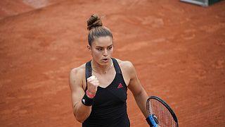 Η Ελληνίδα πρωταθλήτρια Μαρία Σάκκαρη στο Γαλλικό Όπεν