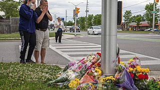 Viele sind schockiert in London bei Toronto in Kanada