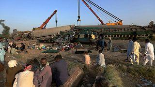 تصادف قطار در پاکستان