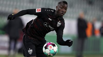 Stuttgart's Congolese forward accused of using false name and age