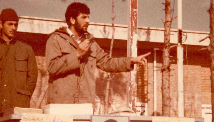 عکس از پایگاه اطلاعرسانی ابراهیم رئیسی
