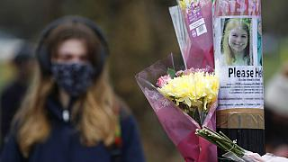Floral tributes for Sarah Everard in Clapham, London after the 33-year-old's body was found in Kent on March 10