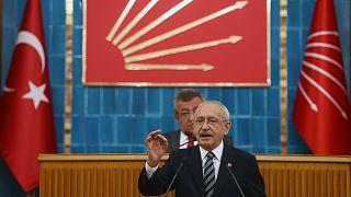 CHP Genel Başkanı Kemal Kılıçdaroğlu, partisinin TBMM Grup Toplantısı'na katılarak konuşma yaptı
