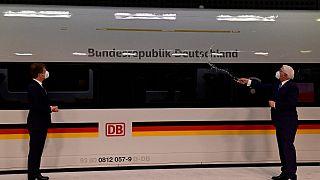 ICE-Taufe mit Bundespräsident Steinmeier