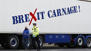 İngiltere, AB'yi Kuzey İrlanda sorununa acil çözüm bulmaya çağırdı