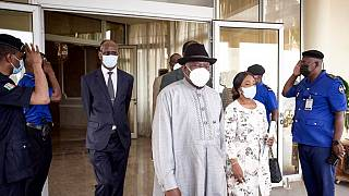 Goodluck Jonathan in Bamako for ECOWAS mediation talks with new regime