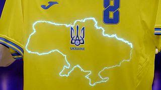 پیراهن تیم ملی فوتبال اوکراین در بازیهای یورو