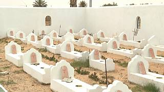 In a Tunisian cemetery, drowned migrants are given a 'dignified' burial