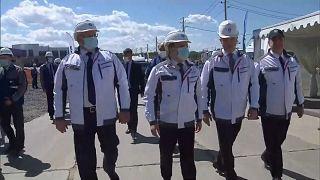 Строительство нового энергоблока в Северске.